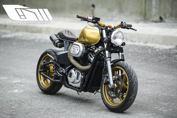 Vtx Shadow Honda Bobber